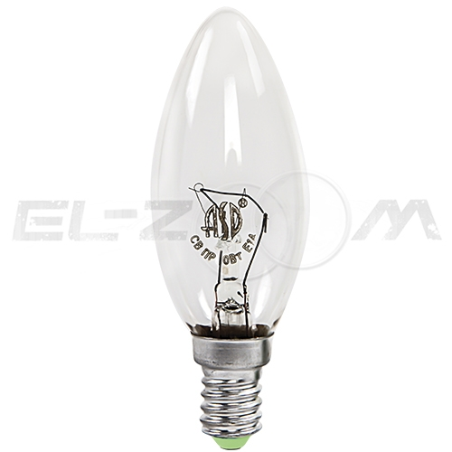 Лампа накаливания СВЕЧА ASD P45 60Вт E14 прозрачная