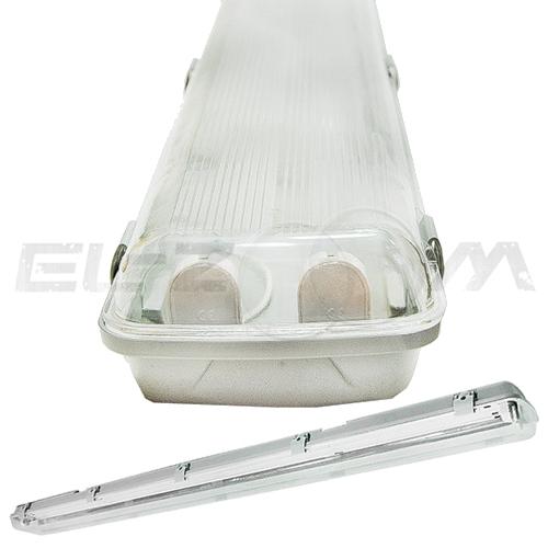 Светильник влагозащищенный LedRay для LED ламп Т8 2Х18 IP 65