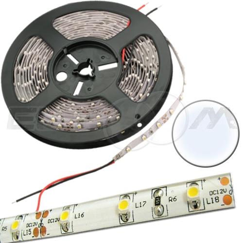 Светодиодная лента SMD 3528 IP65, 12В 4,8Вт/м L60 белый (холодный)