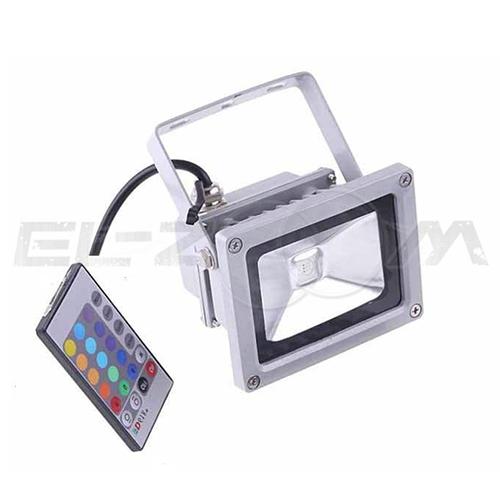 Светодиодный прожектор RGB с пультом д/у Ledray 10Вт IP65 800Лм