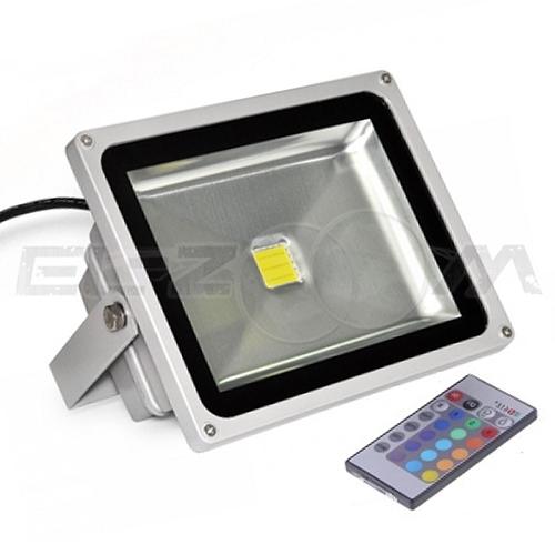 Светодиодный прожектор RGB с пультом д/у Ledray 20Вт IP65 1600Лм