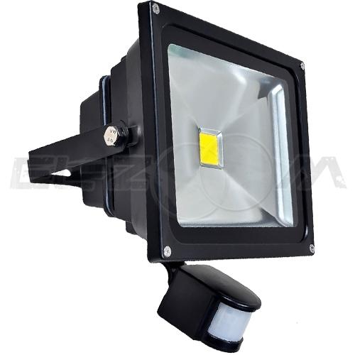 Светодиодный прожектор с датчиком движения Ledray 30Вт IP65 1250Лм