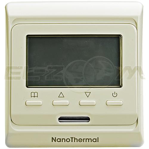 Терморегулятор электронный программируемый для теплого пола E51.716 крем