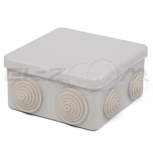 Распаячная коробка 100x100x50мм Greenel IP55 наружного монтажа серая