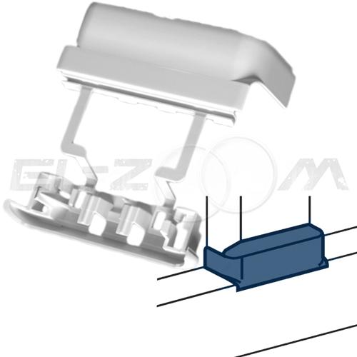 Отвод Т-образный (тройник) для короба 105x50мм. Legrand DLP