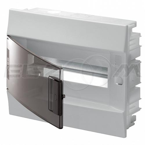 Бокс ABB Mistral41 в нишу 12М с прозрачной дверцей, белый