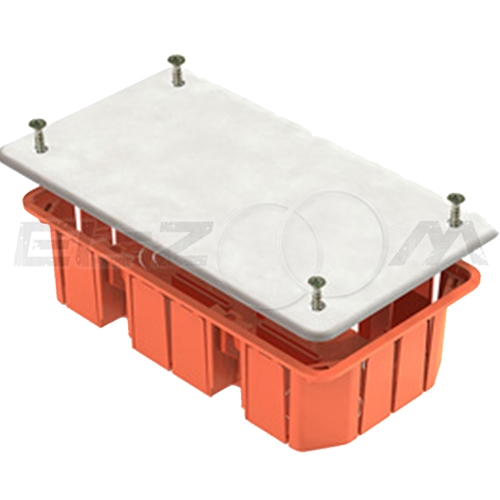 Распаячная коробка 172х96х45мм Greenel IP20 для бетонных и кирпичных стен