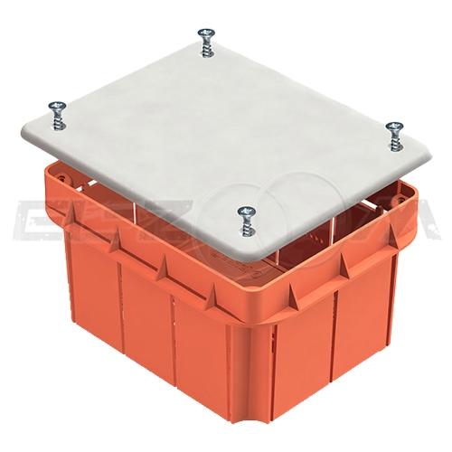 Распаячная коробка 120х92х70мм Greenel IP20 для бетонных и кирпичных стен