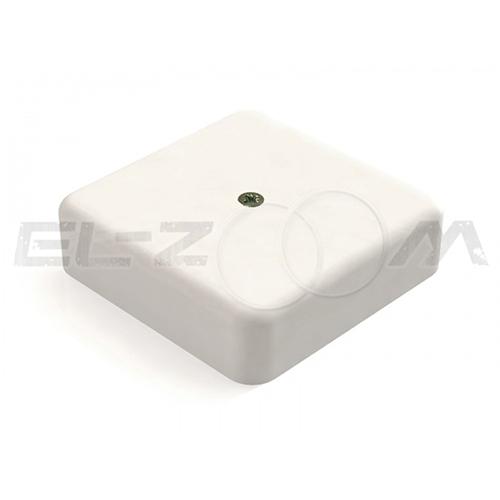 Распаячная коробка 75x75x20мм Greenel IP40 наружного монтажа белая
