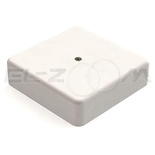 Распаячная коробка 100x100x29мм Greenel IP40 наружного монтажа белая