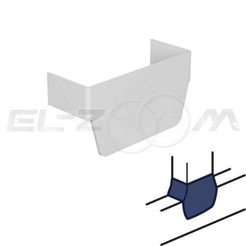 Т-образный отвод для кабель-канала 100x50 Legrand METRA