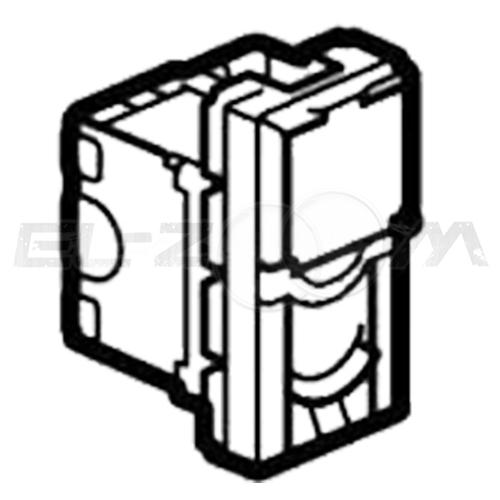 Розетка информационная RJ45 1 коннектор 1м. Legrand Mosaic белая