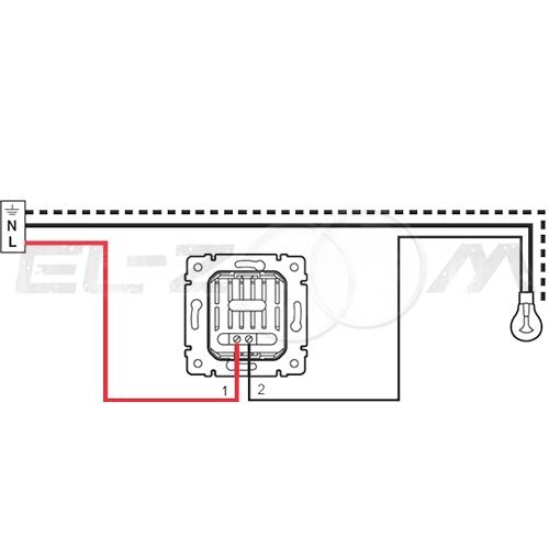 Светорегулятор кнопочный 600W Legrand Valena белый