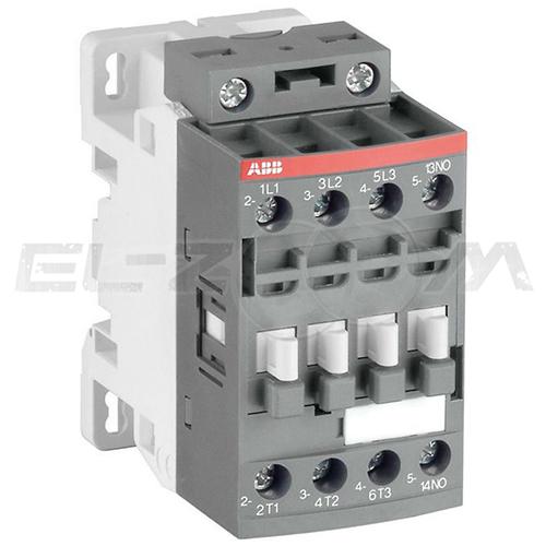 Контактор ABB AF09-30-10-13 9А (3 н.о.+1 н.о.) 100-220В AC/DC