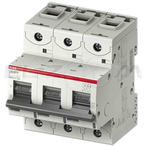 Автоматический выключатель ABB S803C 3п C80 25кА