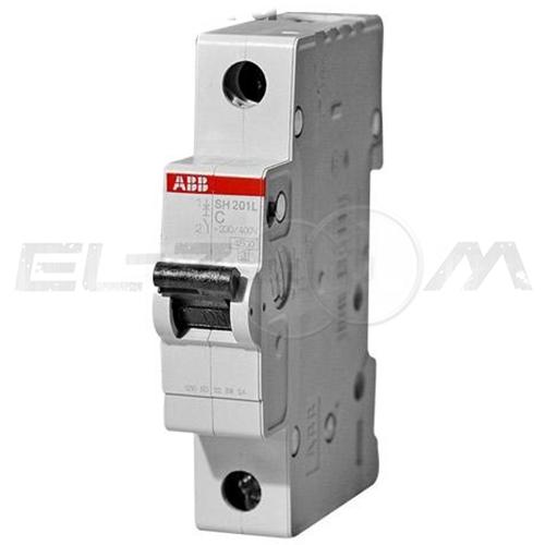 Автоматический выключатель ABB SH201L 1п C10 4,5кА