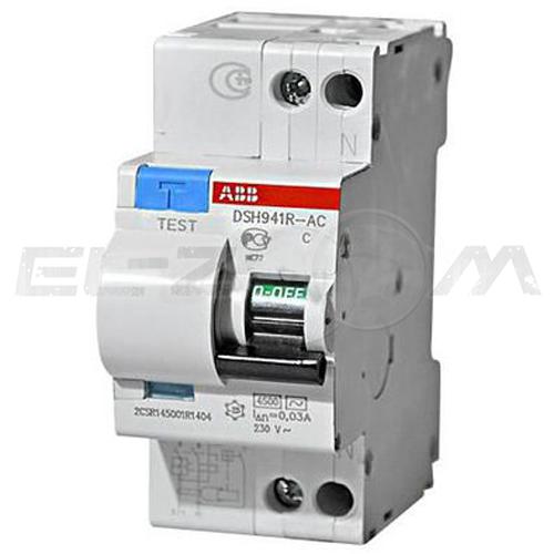 Дифференциальный автомат ABB DSH941R 2п C40 30мА AC
