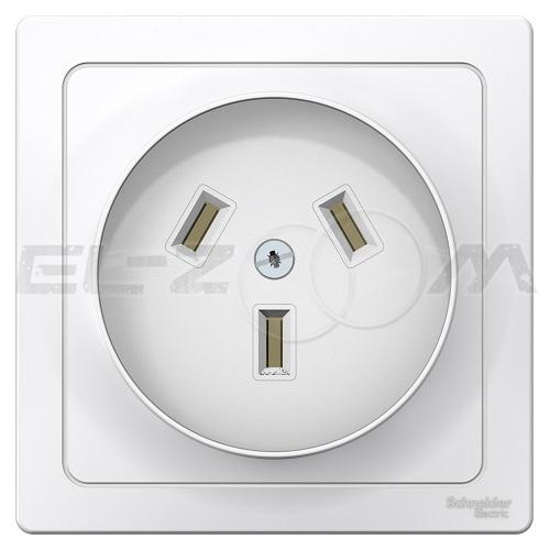 Розетка силовая 2К+З для эл. плиты Schneider electric Blanca 220В 32А
