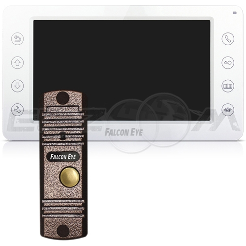 Видеодомофон FE-70CH ORION + вызывная видеопанель FE-305C медь