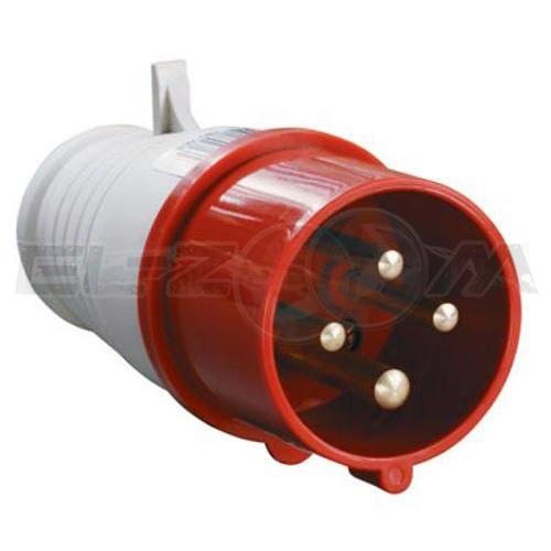 Вилка силовая кабельная 3к+З 16А IP44 IEK ССИ-014