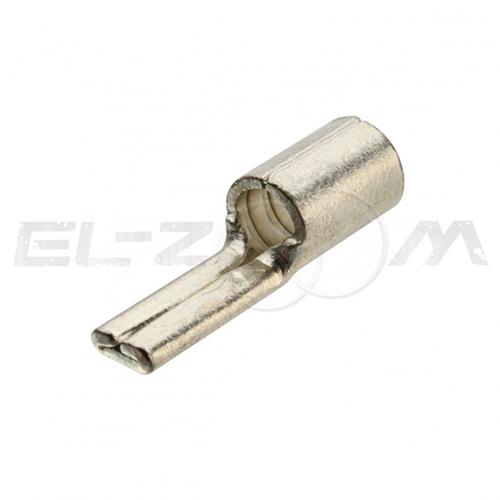 Наконечник кабельный медный штифтовый плоский НШП 10-12 (КВТ)