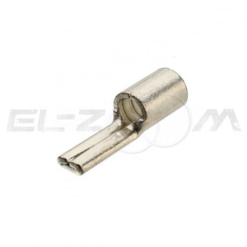 Наконечник кабельный медный штифтовый плоский НШП 6.0-12 (КВТ)
