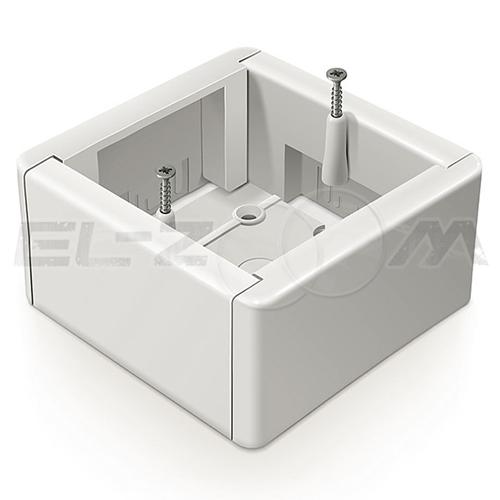 Подъемная рамка (коробка адаптерная) 88x88x44мм IP20 Greenel белая