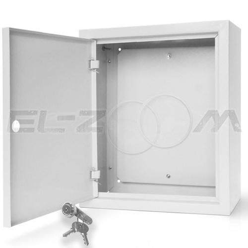 Щит с монтажной панелью ЩМП-06 металл. навесной, серый