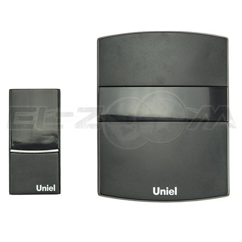 Звонок беспроводной Uniel UDB-001W-BL черный