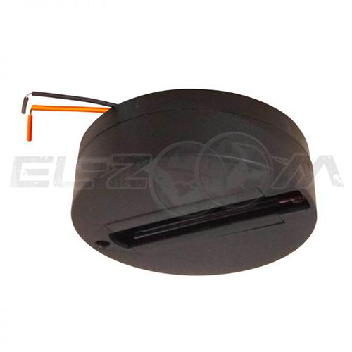 Чашка крепления адаптера к шинопроводу Volpe UBX-Q121 K81 Black 1 Polybag