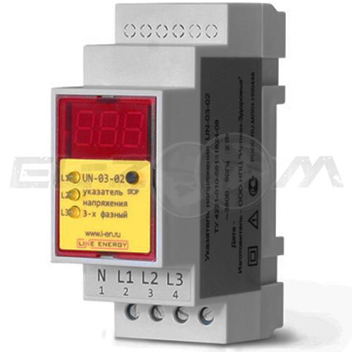 Указатель напряжения Line Energy UN-03-02 380В (100-330В)