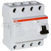Устройство защитного отключения ABB FH204 4п 63А 30мА AC