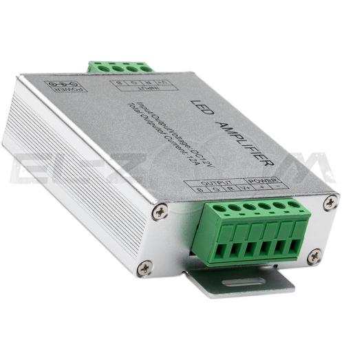 Усилитель питания RGB 12/24В, 12А, IP20 для светодиодных лент