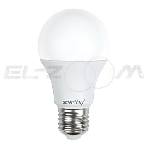 Лампа светодиодная A60 ГРУША Smartbuy 15Вт 4000K E27 220В матовое стекло