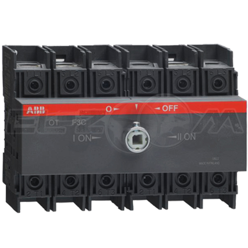 Рубильник реверсивный ABB OT80F3С 3п 80А 2 направления