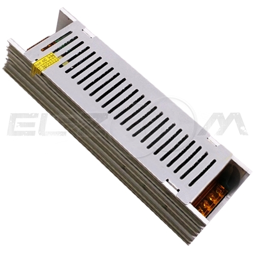 Блок питания (трансформатор) 220-12В, 200Вт, IP20 для светодиодных лент