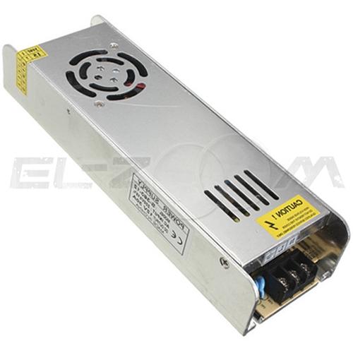 Блок питания (трансформатор) 220-12В, 350Вт, IP20 для светодиодных лент