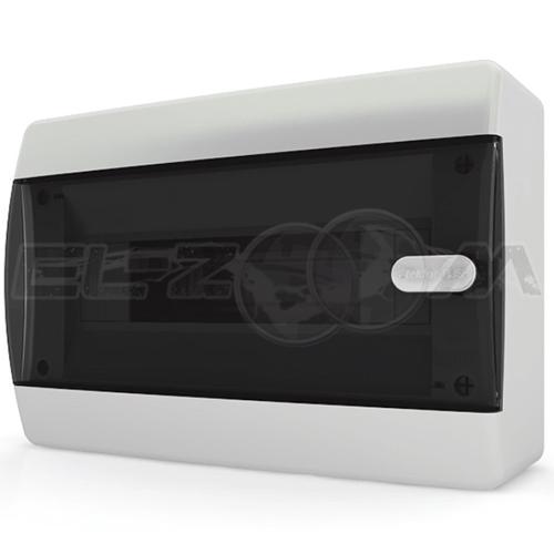 Бокс Tekfor серия C навесной 12М с прозрачной дверцей, белый