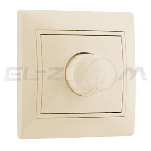 Светорегулятор поворотный 800W ETO Zera крем