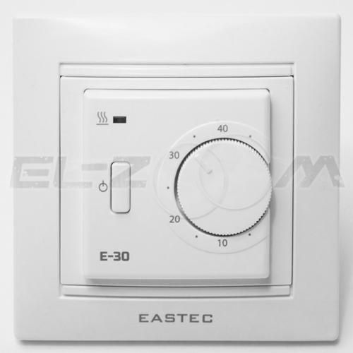 Терморегулятор механический для теплого пола EASTEC E30 белый