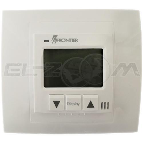 Терморегулятор механический для теплого пола Frontier ТН-0502R белый