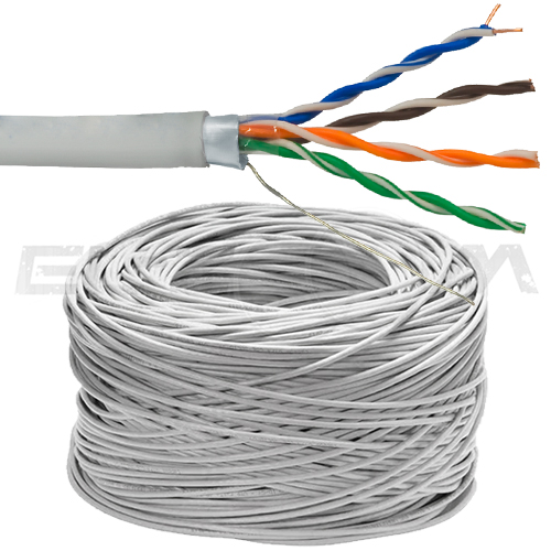 FTP 4x2x0,5 CAT 5E 24 AWG CCA