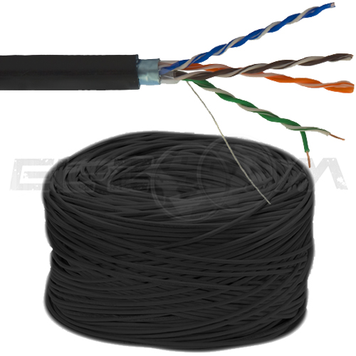 FTP 4x2x0,5 CAT 5E 24 AWG Cu Outdoor
