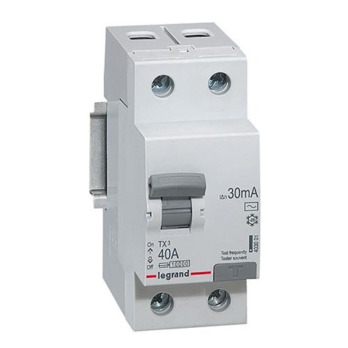 Дифференциальный автомат Legrand RX3 2п C25 30мА AC