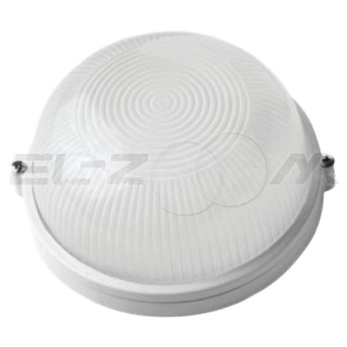 Банный светильник круглый 60Вт без решетки IP54 c цоколем E27