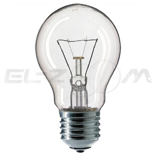 Лампа накаливания ГРУША Лисма-с 100Вт E27 прозрачная