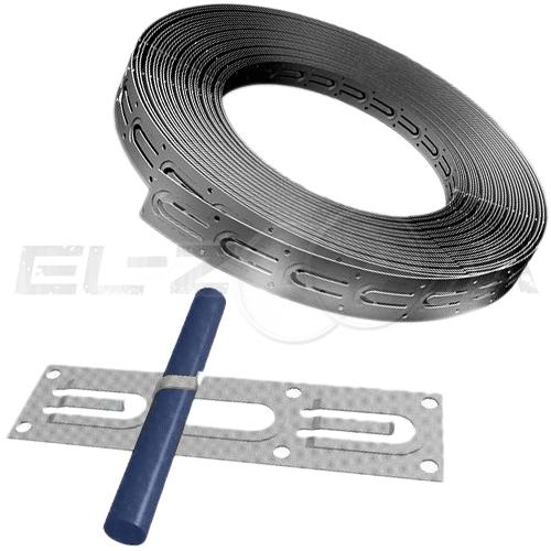 Монтажная лента для кабельного теплого пола 20мм (10м)