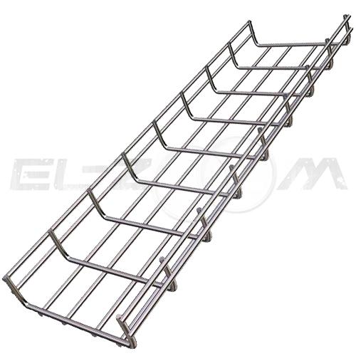Проволочный лоток стандарт, металл 100x35мм