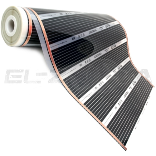 Инфракрасная нагревательная пленка 0.8м 176Вт/м Nanothermal