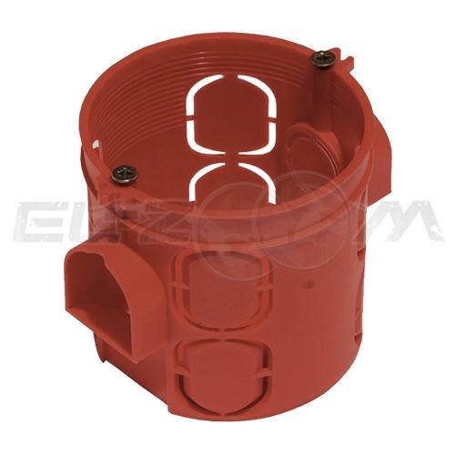 Установочная коробка глубокая D=64мм (подрозетник) Промрукав для кирпичных и бетонных стен